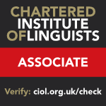 Chartered Institute of Linguists Associate
