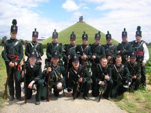 3/95th Rifles at Waterloo 2007